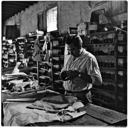 Shoe factory in Álamos