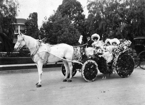 1897 Tournament of Roses Parade float