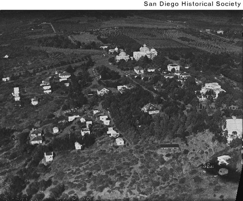 Aerial view of the Theosophical Society