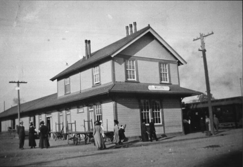 Train station at Willits