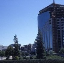 Views of the Sacramento Housing and Redevelopment Agency (SHRA) projects. This view is of the Capitol Bank of Commerce