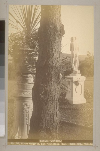 No. 32 - Venus. (Canova.) - Sutro Heights, San Francisco, Cal., 1886