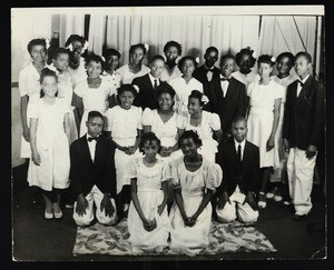 Unidentified group of young adults in Memphis