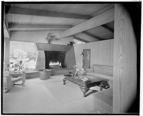 Gilman, Alfred T., residence. Living room
