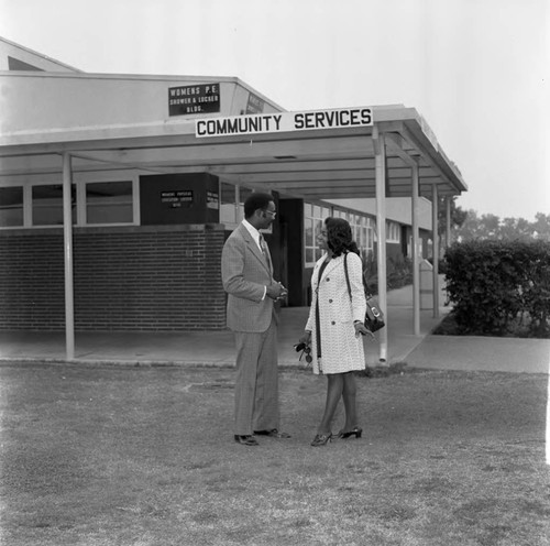 Compton College Community Services, Los Angeles, 1972