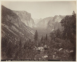 General view of Yosemite Valley from Artist's Point, B 1056 (2 views)