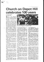 Church on Depot Hill celebrates 100 years