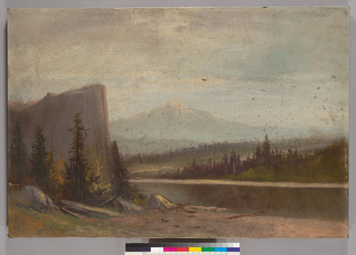 [Untitled river scene : possibly the Columbia River]