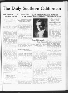 The Daily Southern Californian, Vol. 5, No. 42, December 02, 1914