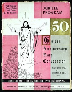 50th Annual Holy convocation of the Church of God in Christ