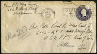 Correspondence. 1945 March (10 items)
