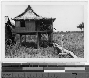 Typical Philippine home, Philippines, ca. 1940