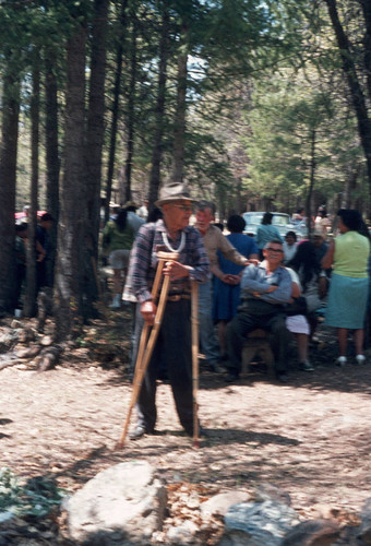Herb Young at the Greenville Bear Dance--1970