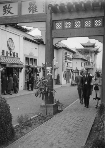 Gin Ling Way and Hill Street Gate, New Chinatown