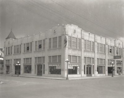 Stockton - Streets - c.1930 - 1939: N. American St. and E. Channel St