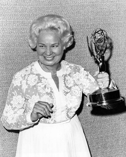 Shirley Booth with Emmy