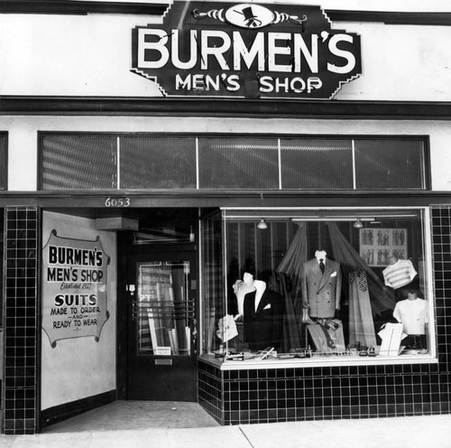 New men's store for Valley