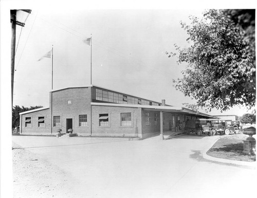 Fitzgerald building--the Santa Rosa Poultry Association and Egg Exchange, Inc