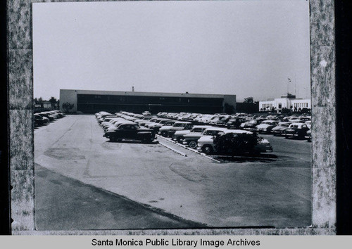 Parking lot of the original Rand Building, 1700 Main Street, across from Santa Monica City Hall