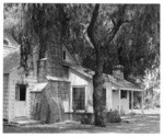 [Exterior side view of Thomas Rogers residence, North Hollywood.]