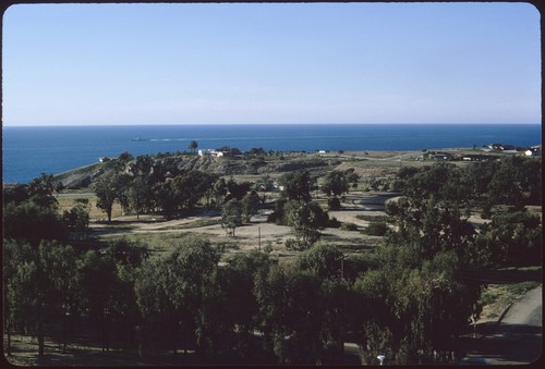 View of La Jolla Farms from Urey Hall, looking northwest
