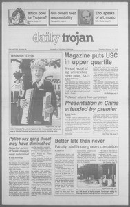 Daily Trojan, Vol. 113, No. 35, October 23, 1990