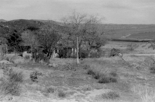 View of Talcott Ranch house, Bouquet Canyon
