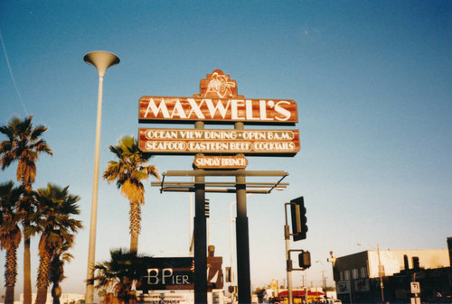 Calisphere Maxwell S Restaurant In Huntington Beach Ca