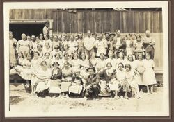 Crew of the Graton Union Dryer Packinghouse, August 1st, 1923