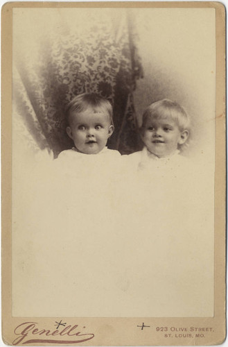 Portrait of Ida W. Johnson and S. C. Johnson