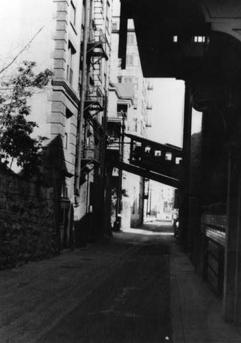 Clay Street view of Angels Flight