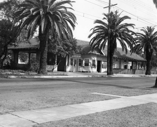 Covina Pacific Electric depot