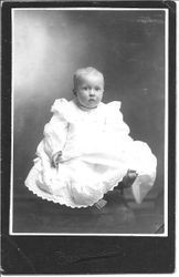 Dorothy Upp, at 10 months of age