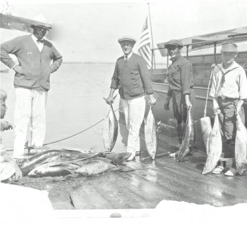 Greg Rogers with Fishing Catch