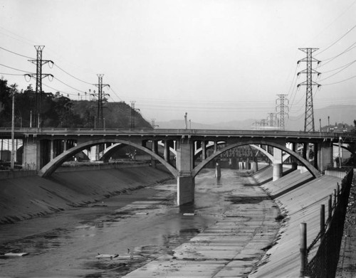 Los Angeles River at Broadway