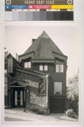 Goslinski house, San Francisco: [exterior, general view]