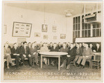 Foremen's Conference - May 1929-1930, Hall-Scott Motor Car Co., Berkeley, Cal.