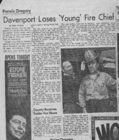 Davenport loses 'Young' fire chief
