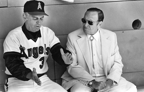 Gene Mauch and Gene Autry