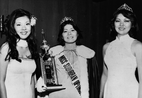 Miss Suburban Optimist Pageant Winners, Anaheim [graphic]