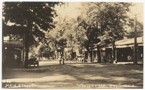 Main Street Weaverville California 40