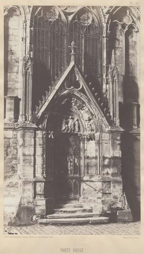 Calisphere Porte Rouge Cathédrale Notre Dame De Paris