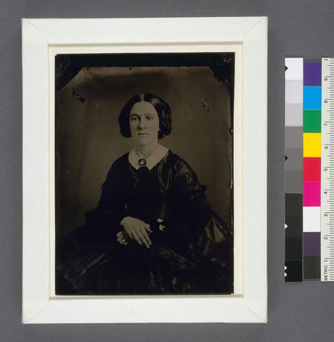 Calisphere: [Mary Eliza Wilson Wakeman, wife of Ferdinand