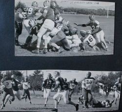 Analy High School Tigers football 1948--Analy vs St. Vincent in Petaluma, 1948