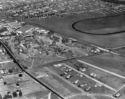 MGM Studios aerial view