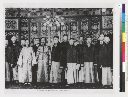 Officers of the Chinse Six Companies