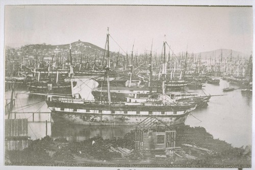 [William Shew panorama of the waterfront.] Continued
