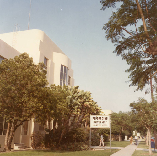 Academic Life Building on Los Angeles campus, 1970s