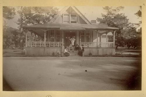 Bowling Alley--Monterey. 1882
