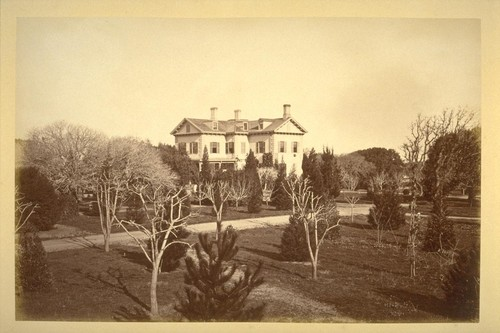 [San Mateo's first hotel, built by Tony Oakes; later E. Taylor residence] cf. La Purissima, v.7, no.3, p.1